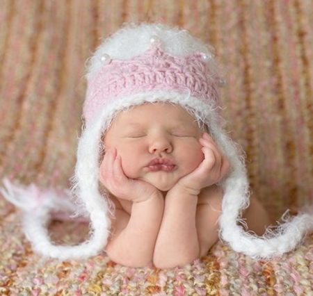77115ee30 Abigail Cream Crocheted Hat – Peek A Boo Baby